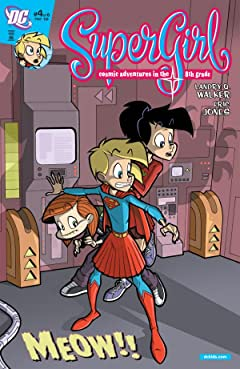 Supergirl: Cosmic Adventures in the 8th Grade #4 (of 6)