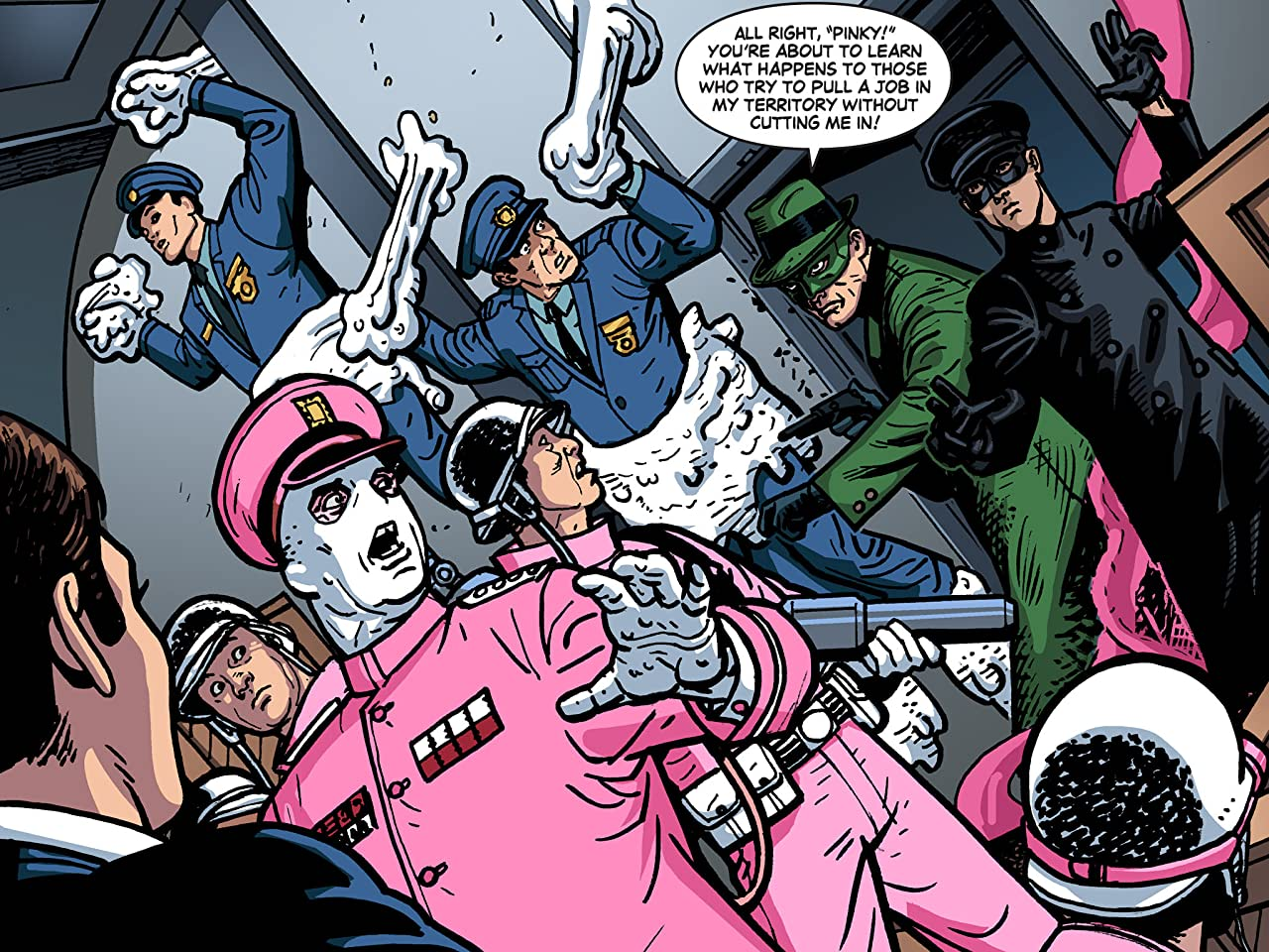 Batman '66 Meets The Green Hornet #2