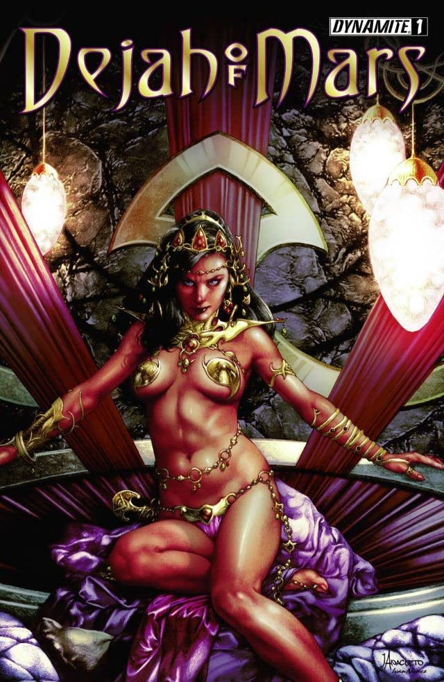 Dejah Of Mars #1 (of 4): Digital Exclusive Edition