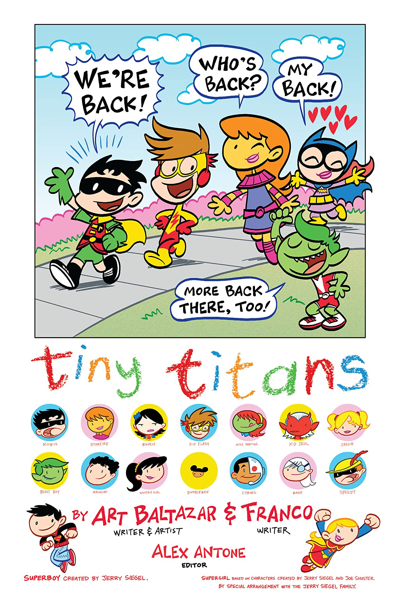 Tiny Titans: Return to the Treehouse #1