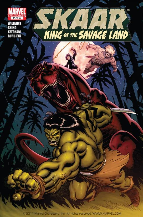 Skaar: King of the Savage Land #2 (of 5)