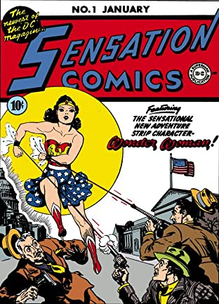 Sensation Comics (1942-1952) No.1