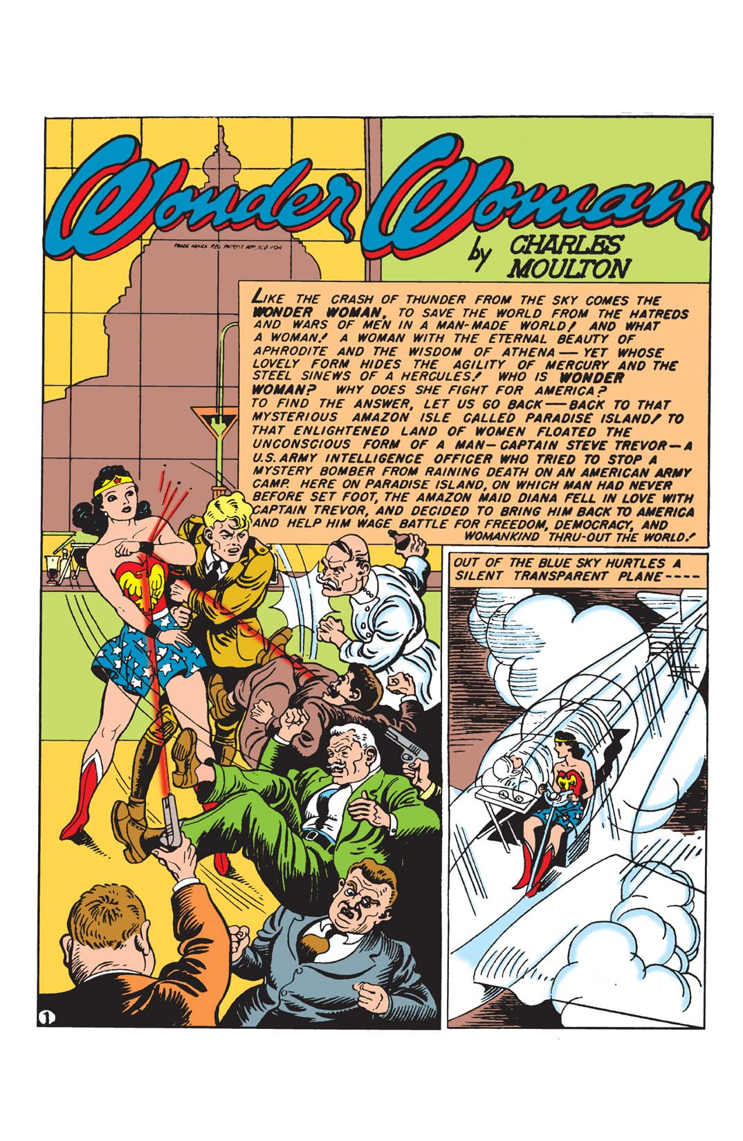 Sensation Comics (1942-1952) #1