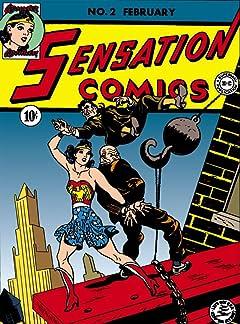 Sensation Comics (1942-1952) #2-3