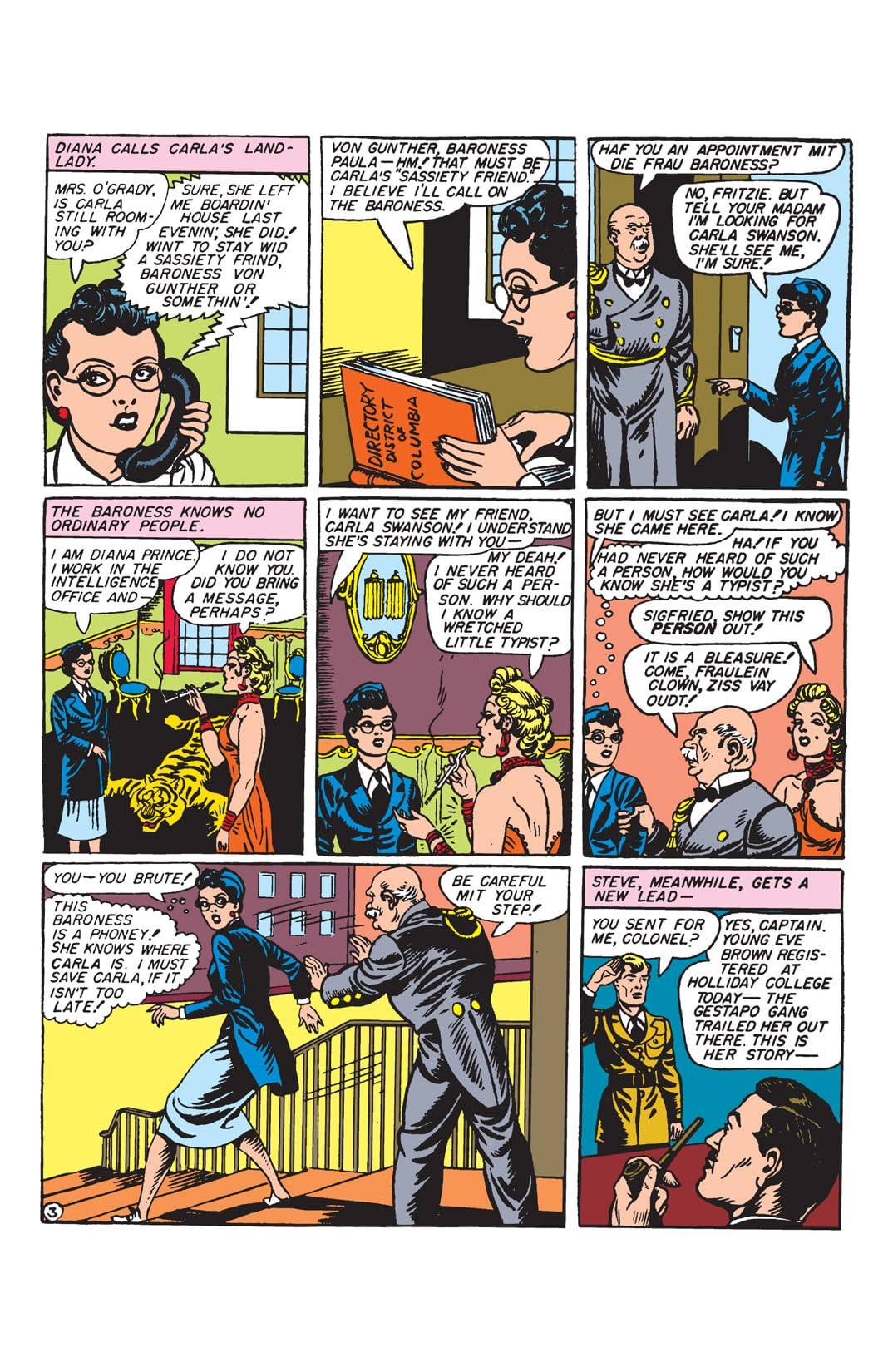 Sensation Comics (1942-1952) #4-5