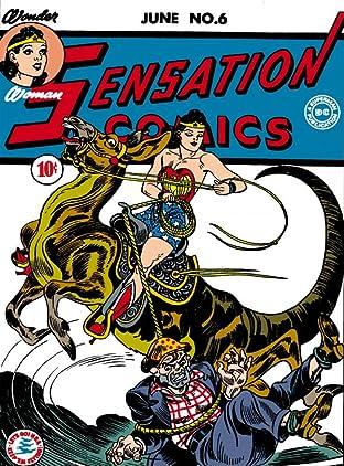 Sensation Comics (1942-1952) #6-7