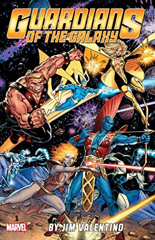 Guardians of the Galaxy By Jim Valentino COMIC_VOLUME_ABBREVIATION 1