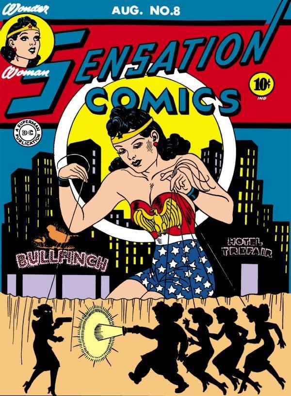 Sensation Comics #8-9