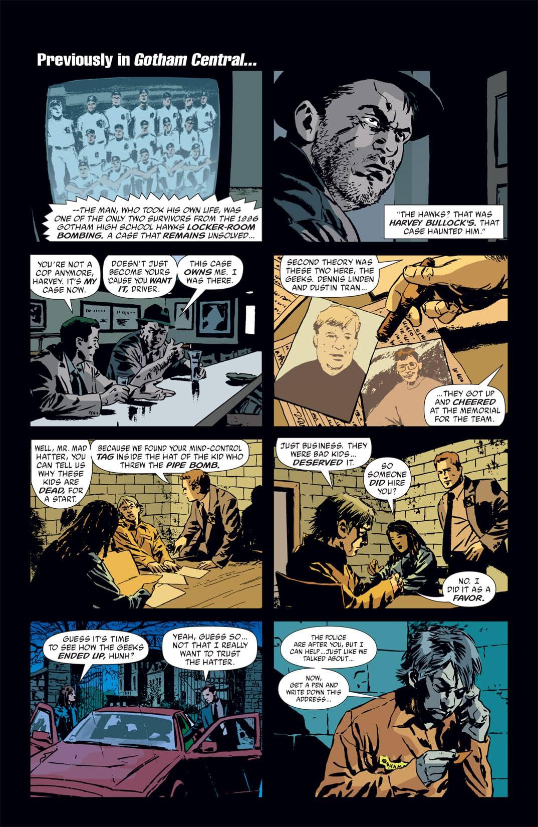 Gotham Central #21
