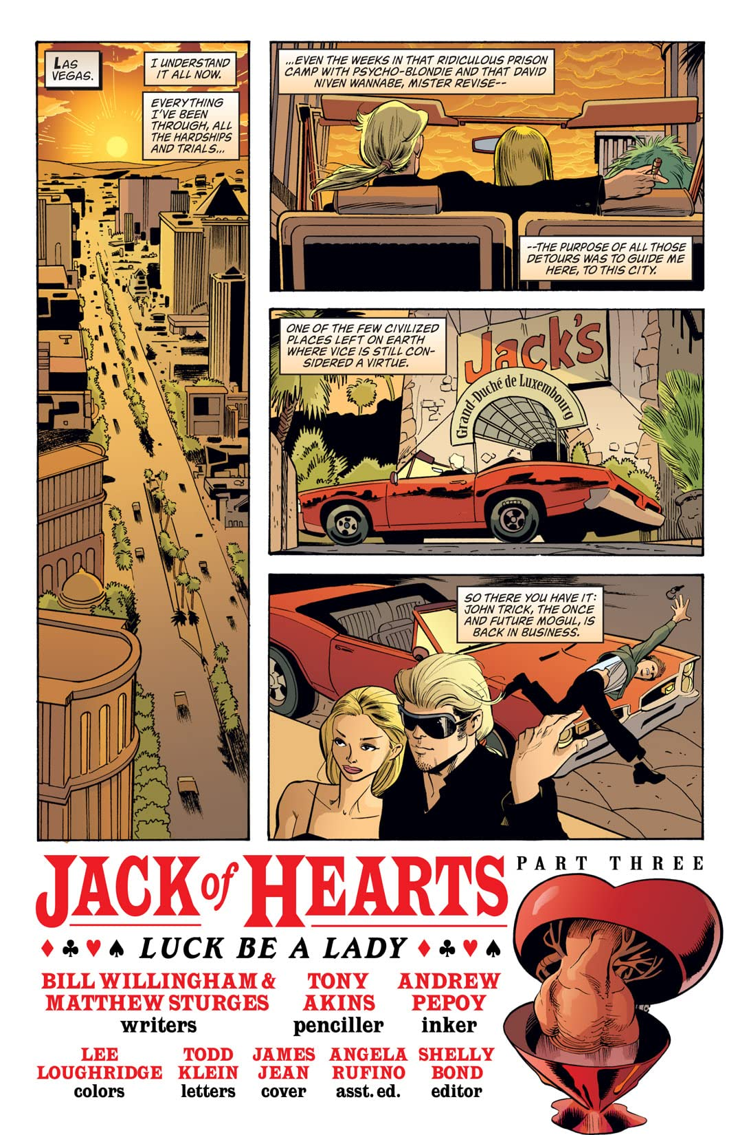 Jack of Fables No.9
