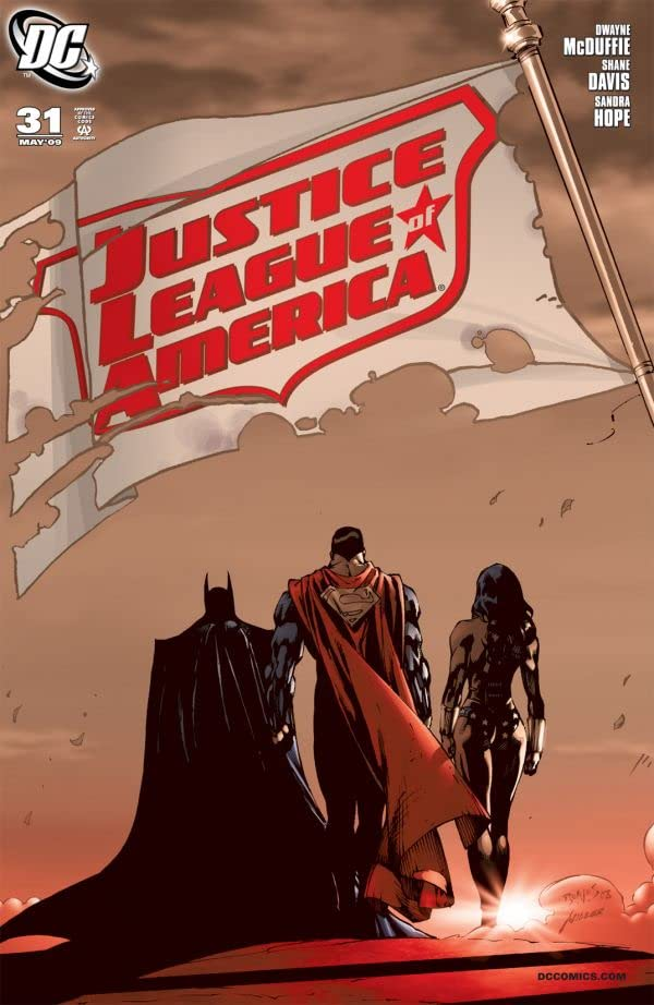 Justice League of America (2006-2011) #31