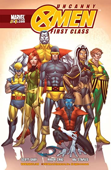 Uncanny X-Men: First Class #1 (of 8)