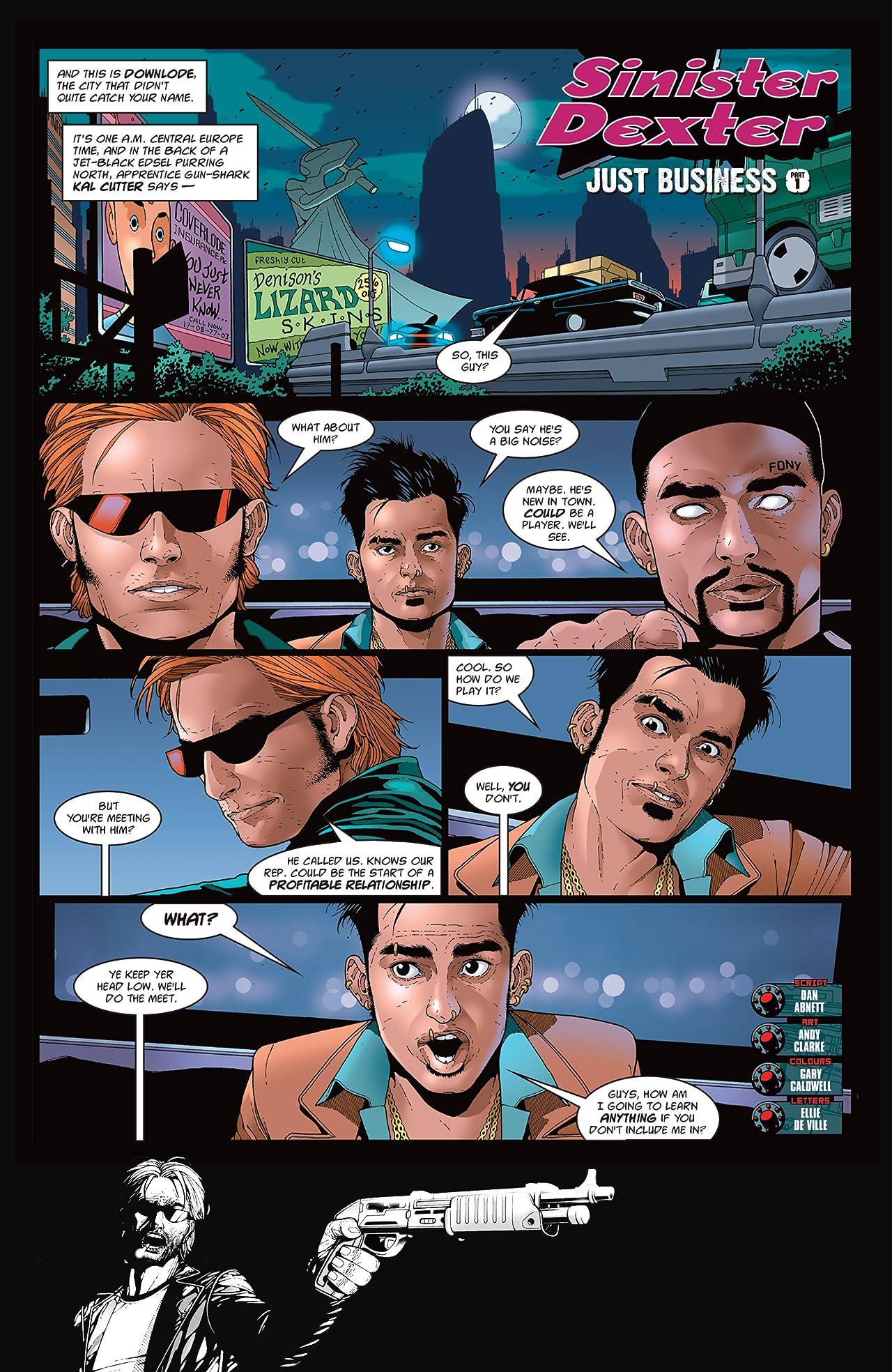 Sinister Dexter #7 (of 7)