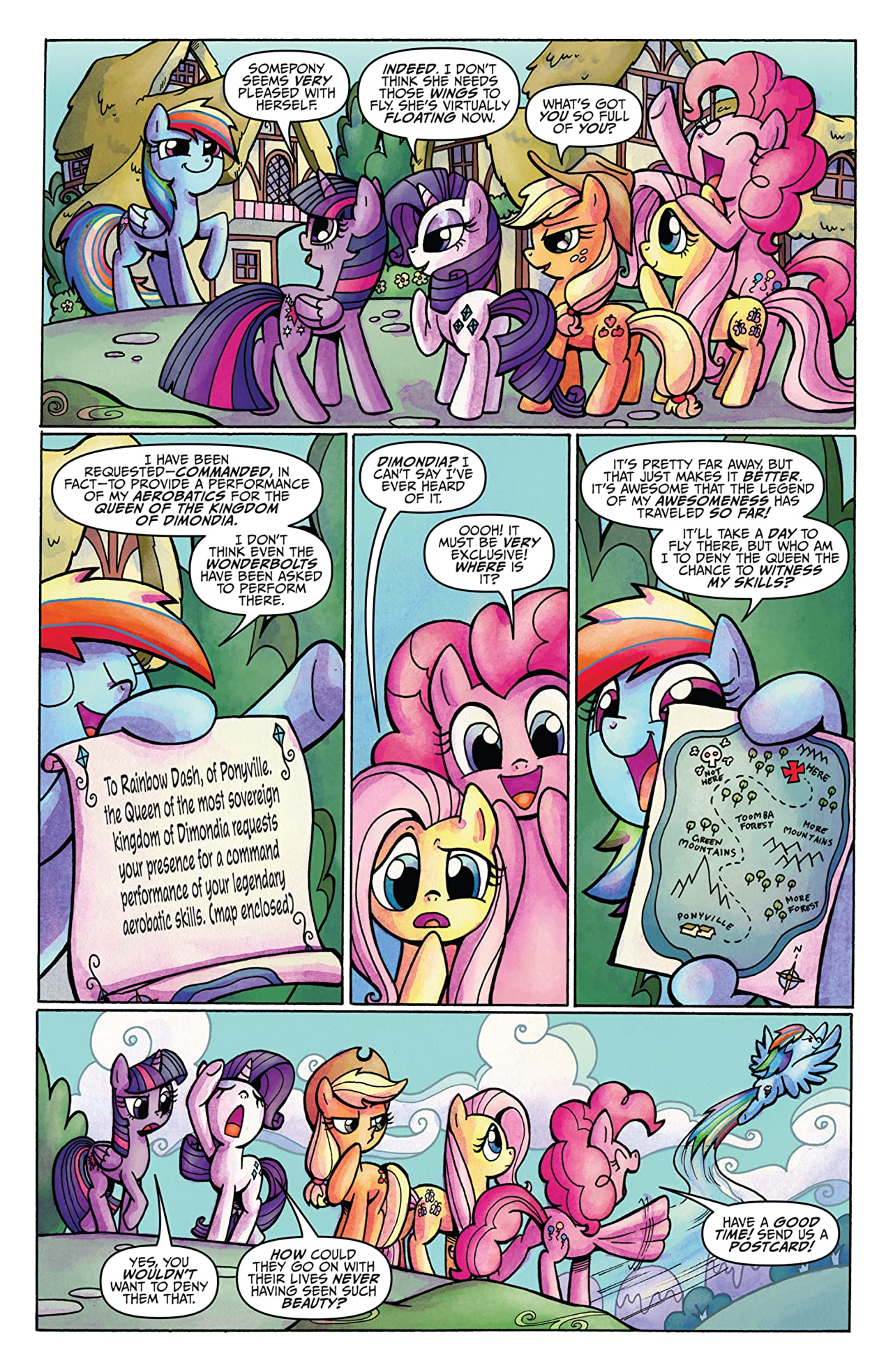 My Little Pony: Friends Forever #6