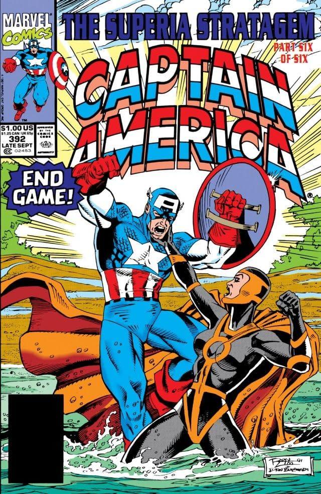 Captain America (1968-1996) #392