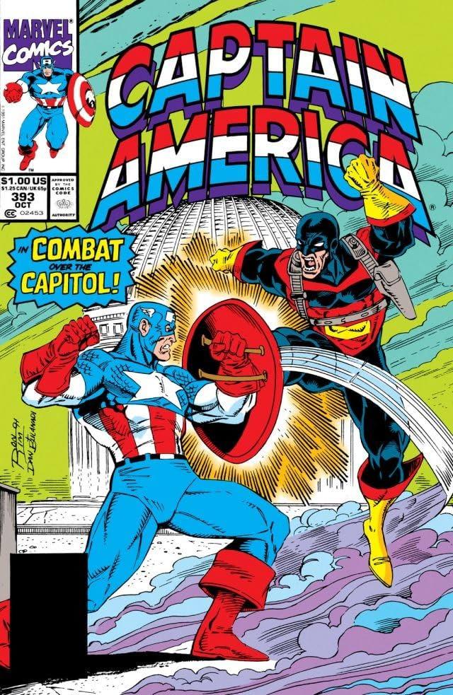 Captain America (1968-1996) #393