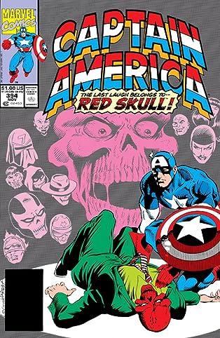 Captain America (1968-1996) #394