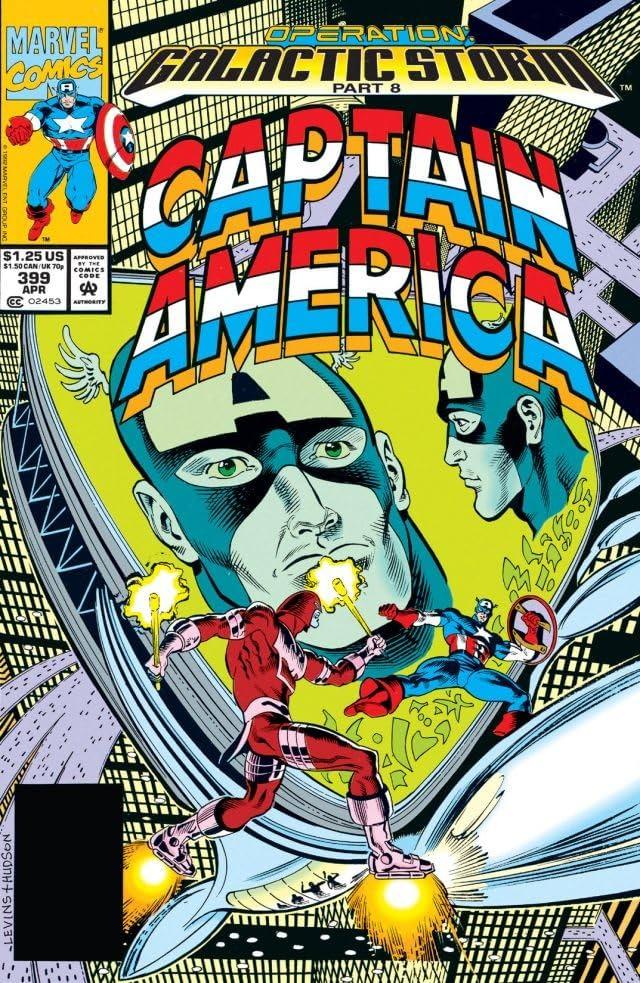 Captain America (1968-1996) #399