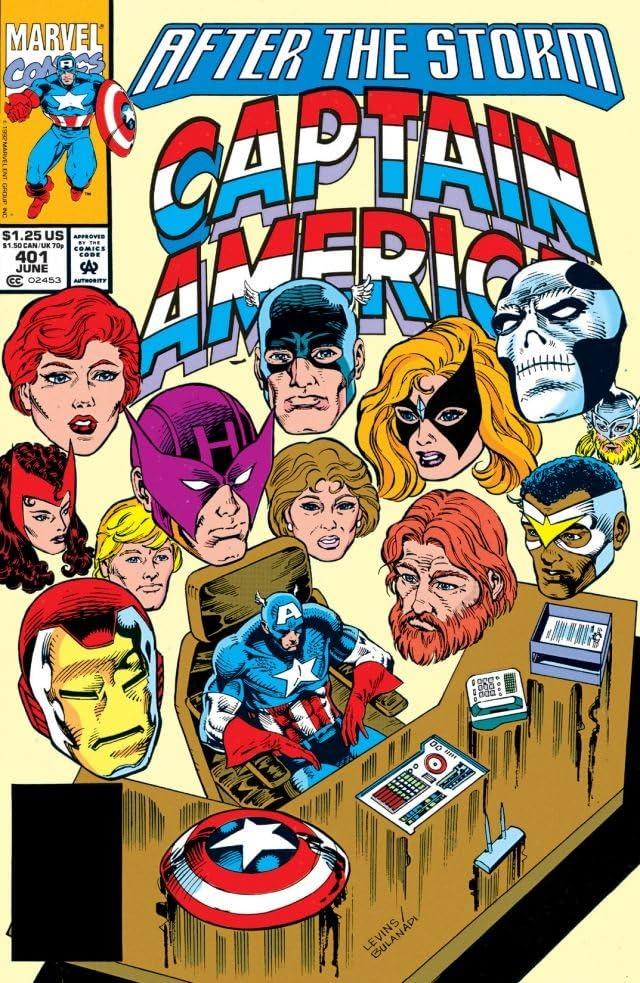 Captain America (1968-1996) #401