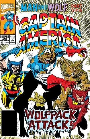 Captain America (1968-1996) #406