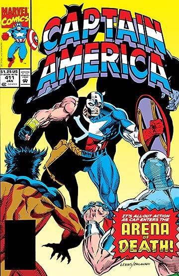 Captain America (1968-1996) #411