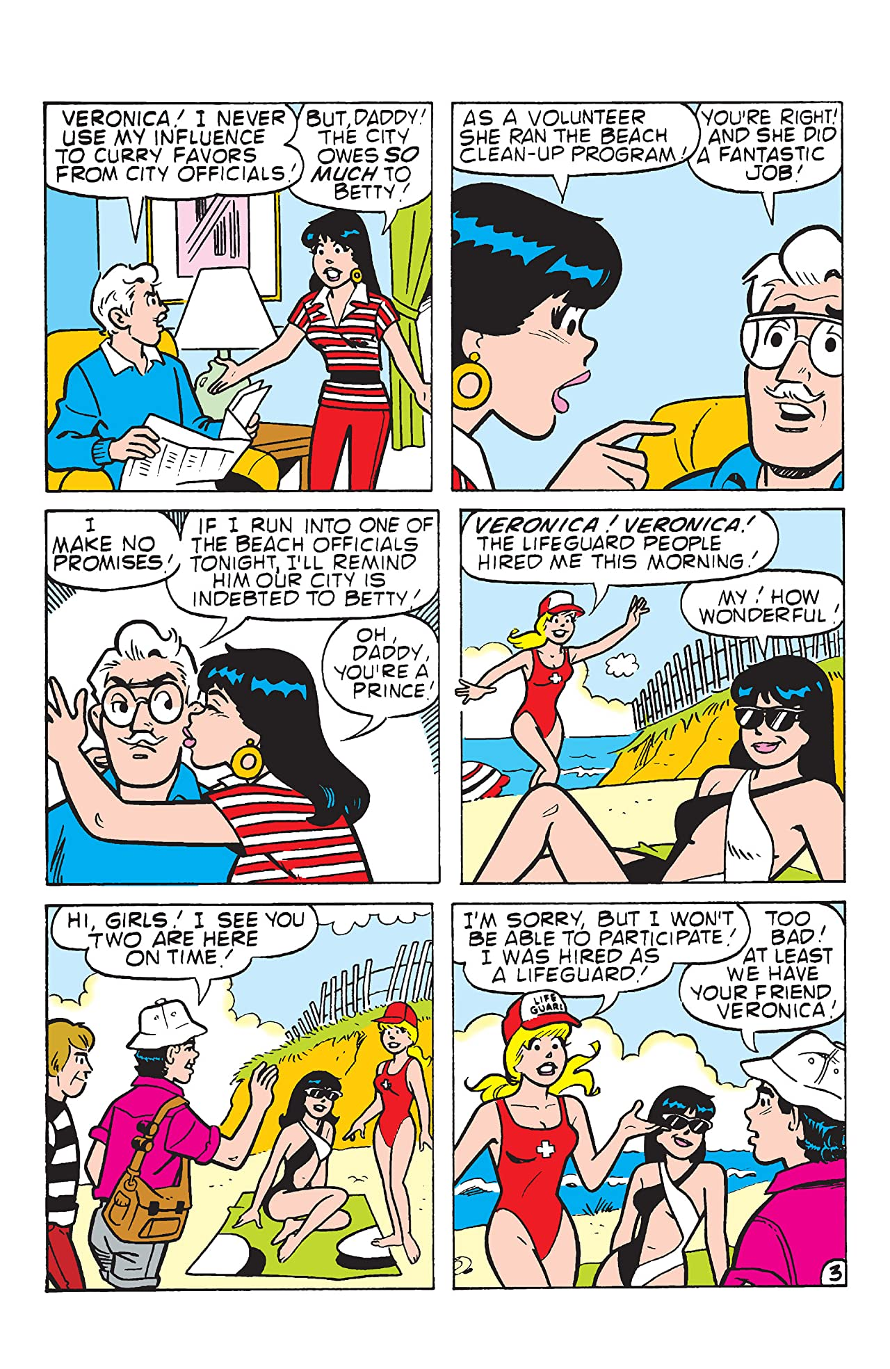 PEP Digital #99: Betty & Veronica Swimsuit Special