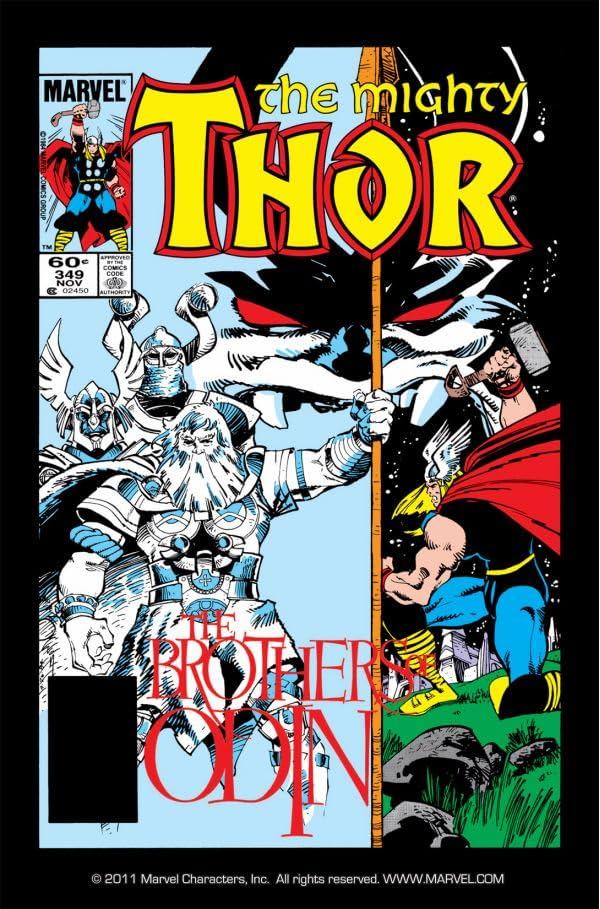 Thor (1966-1996) #349
