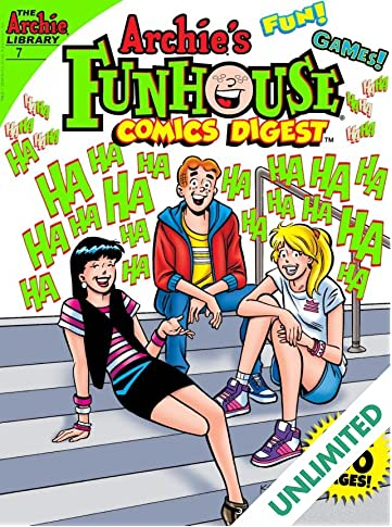 Archie's Funhouse Comics Digest #7