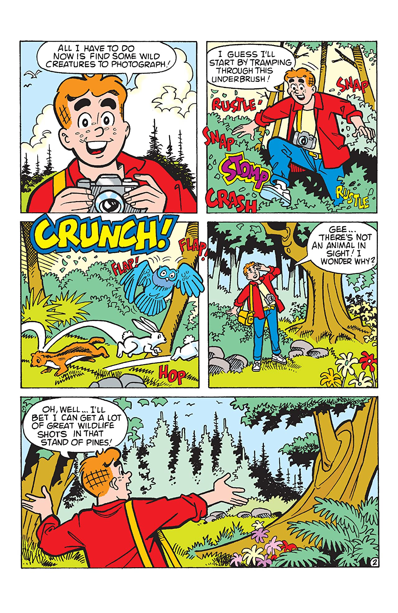 PEP Digital #102: Archie & Friends World Wide Wildlife