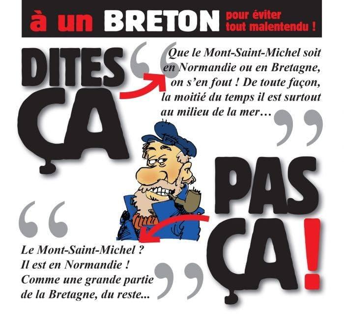 Dites ça, pas ça !: À un breton