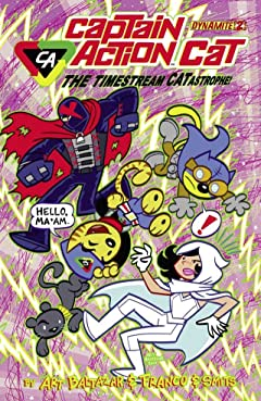 Captain Action Cat: The Timestream Catastrophe #2 (of 4): Digital Exclusive Edition