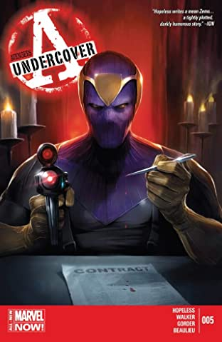 Avengers Undercover No.5