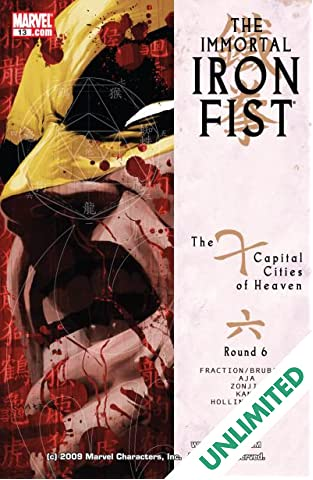 Immortal Iron Fist #13