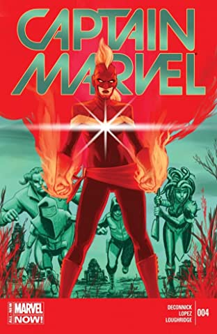 Captain Marvel (2014-2015) No.4