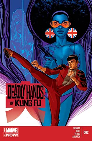 Deadly Hands of Kung Fu (2014) #2 (of 4)