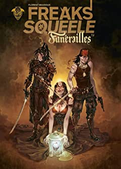 Freaks' Squeele : Funérailles Tome 2: Pain in Black