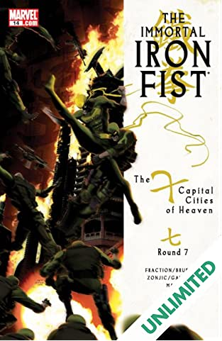 Immortal Iron Fist #14