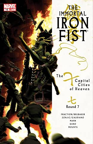Immortal Iron Fist (2006-2009) No.14