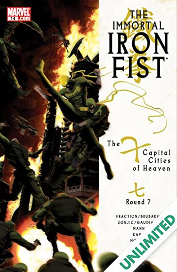 Immortal Iron Fist (2006-2009) #14