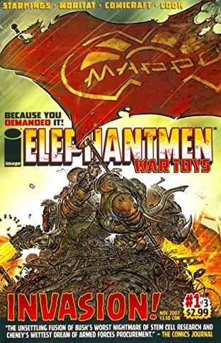 Elephantmen: War Toys No.1 (sur 3)