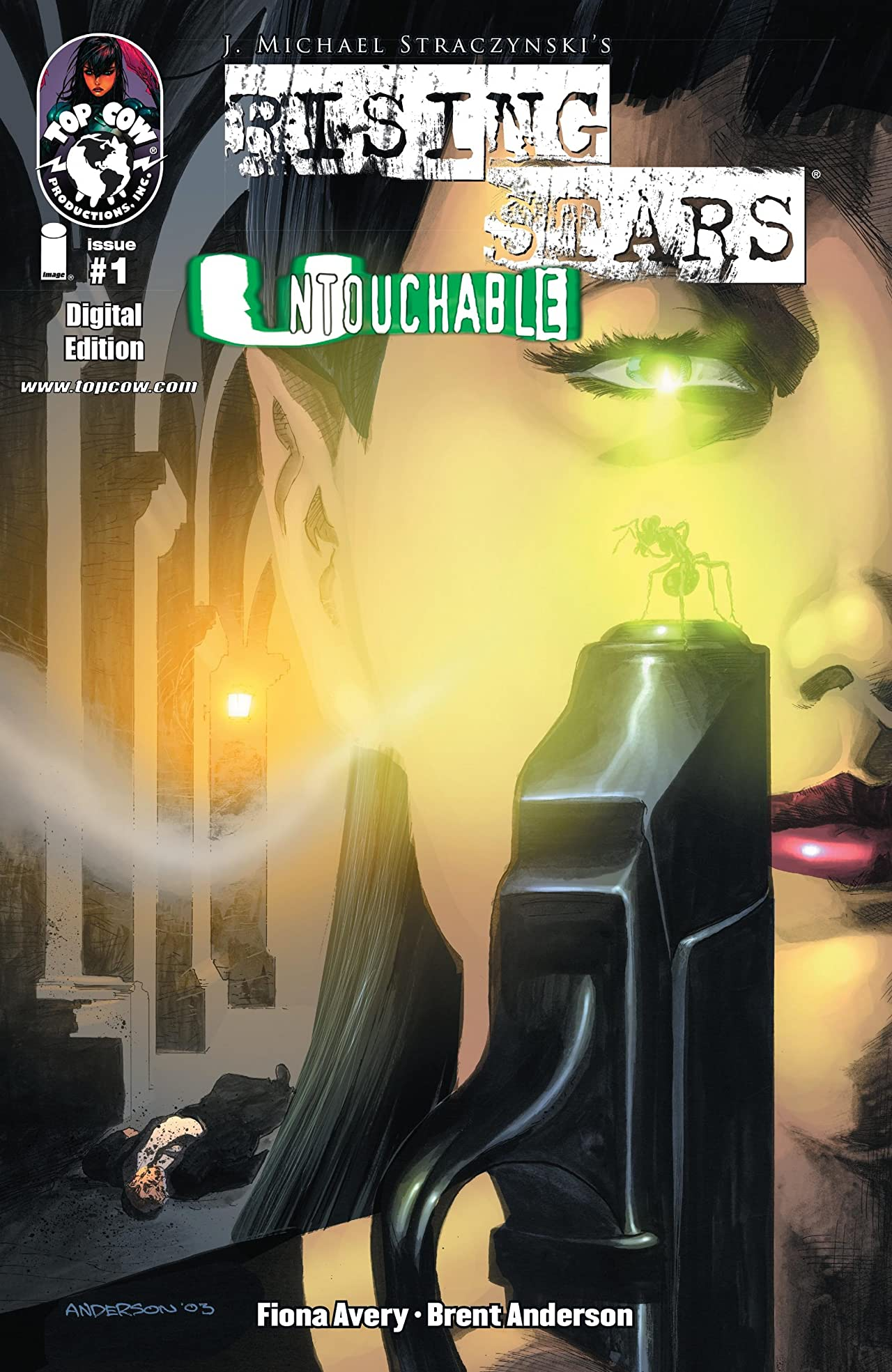Rising Stars: Untouchable #1