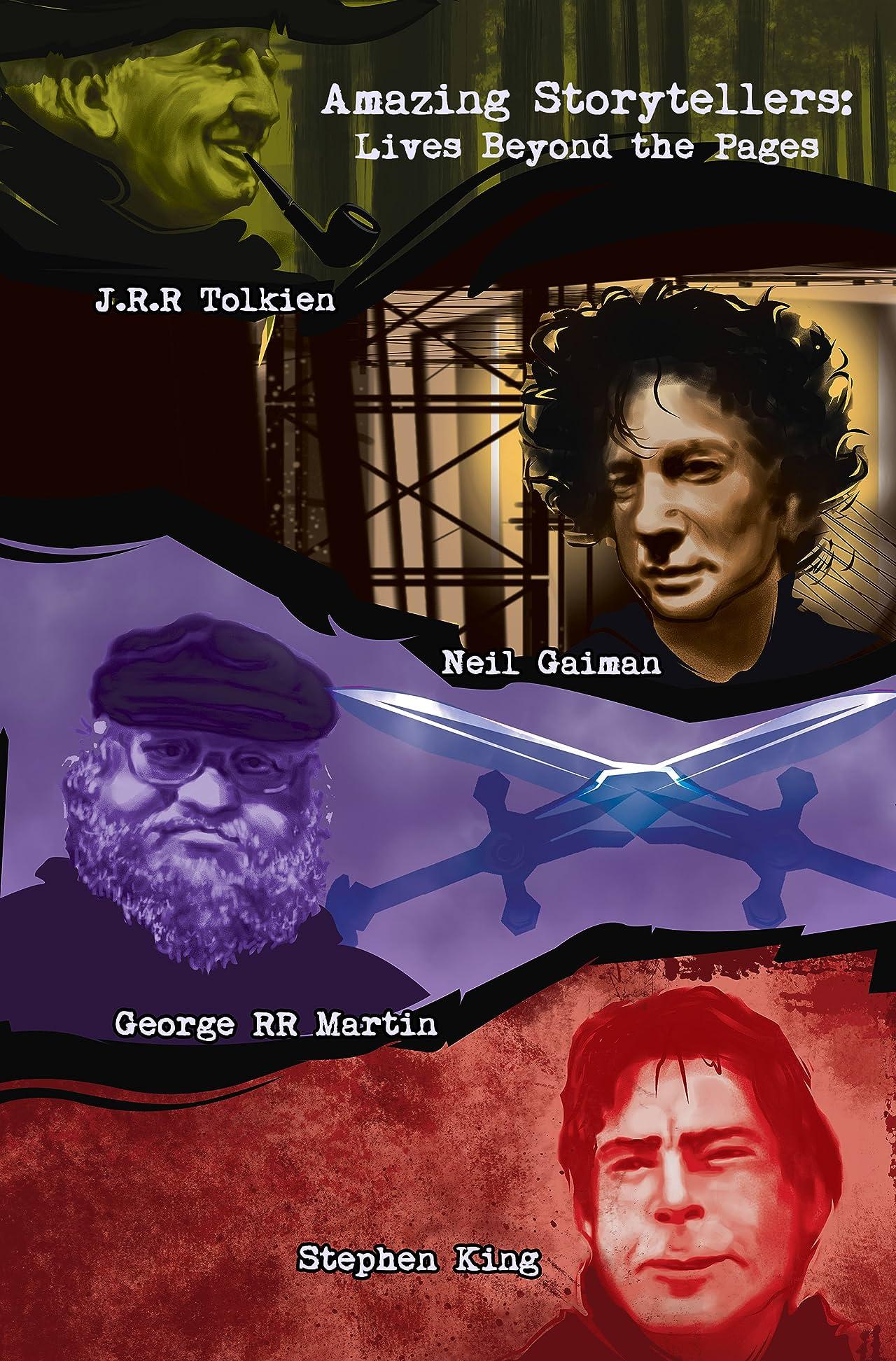 Amazing Storytellers: J.R.R Tolkien, George RR Martin, Neil Gaiman & Stephen King