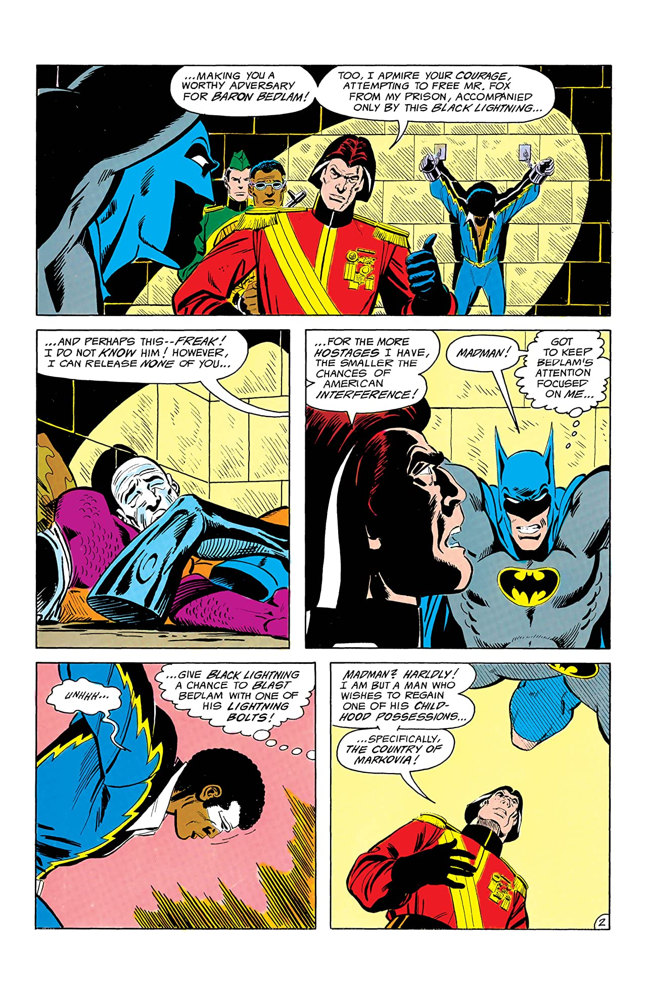 Batman and the Outsiders (1983-1987) #2