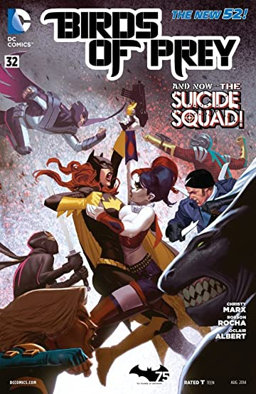 Birds of Prey (2011-2014) #32