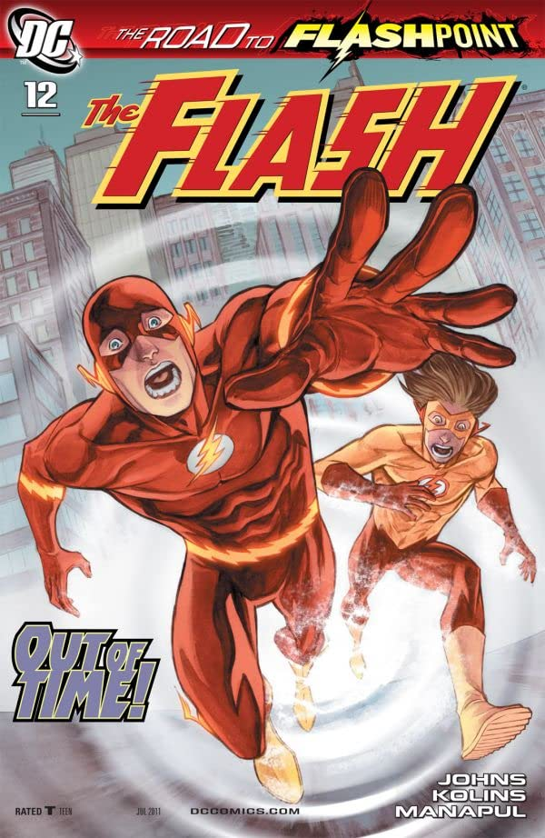The Flash (2010-2011) #12