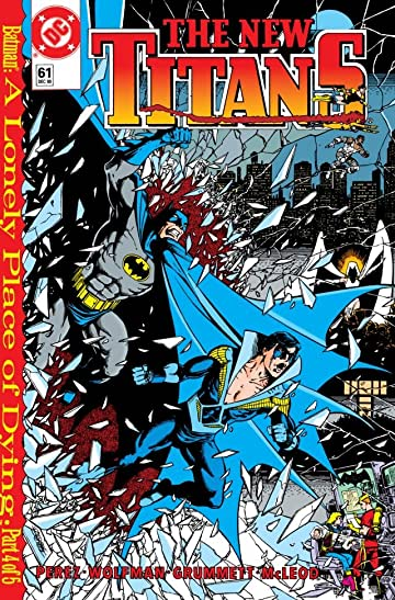The New Titans (1984-1996) #61