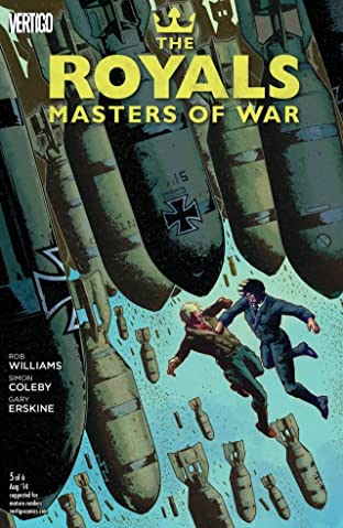 The Royals: Masters of War (2014) #5 (of 6)