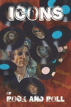 Icons of Rock and Rock: Paul McCartney, John Lennon, Keith Richards, Jimi Hendrix, Jim Morrison