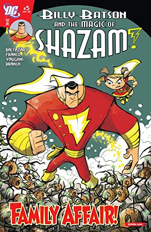 Billy Batson and the Magic of Shazam! No.5