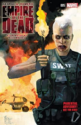 George Romero's Empire of the Dead: Act One #5 (of 5)